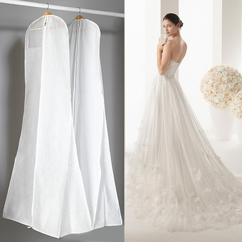 5d48b44868b6190 Очень большая одежда свадебное платье длинное чехол для одежды чехол ...