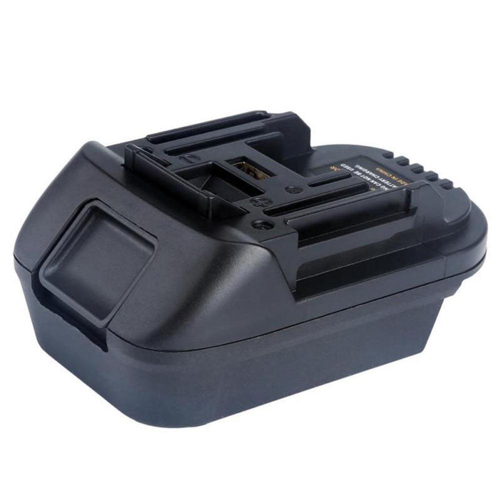 New 20V To 18V Lithium Battery Adapter Converter With USB Port For DEWALT MAKITA