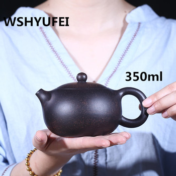 200~350ml Authentic Yixing Teapot Master Handmade Chinese Health Purple Clay  Tea set Tea Set Xi Shi Pot Multi-style Selection