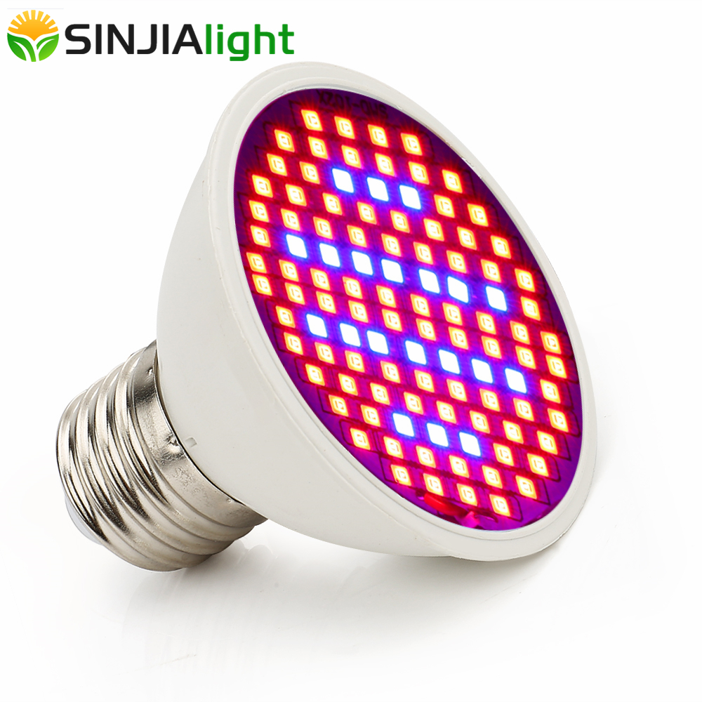 House Plant Grow Light: 10W LED Grow Light 106LEDs SMD2835 Red+Blue Growing Lamp