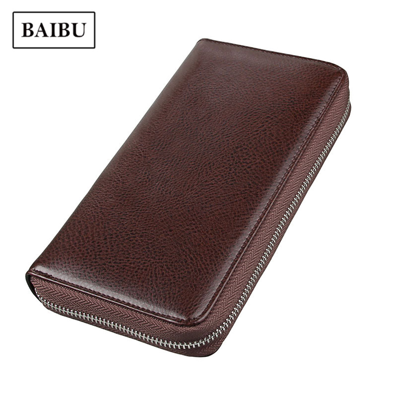 Card Holder Cowhide Men Genuine Leather Passport Large Capacity Long Wallet Credit Card Multi-function Women ID Card Purse Pouch men s wallet large capacity credit card holder id business card file passport cover leather clutch purse card bag for documents