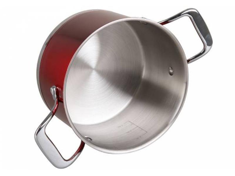 A Set Of pans POMI DORO, Prezioso, 4 subject set pomi doro facilita 4 subject