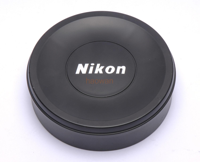 Tapa de la lente frontal protector negro slip-on para Nikon AF-S 14-24mm f/2.8 G Ed 14-24 F2.8 lente