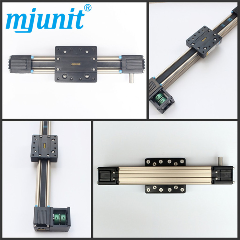 Linear Belt Drive Rail Aluminum Alloy /Linear Bearing Ball Slide Unit Guide /Precision Linear Guide Way ball linear rail guide roller shaft guideway toothed belt driven
