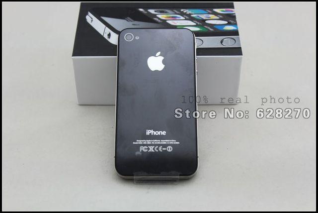 "Original apple iphone 4 phone unlock 8GB 16GB 32GB 5MP Camera 3.5"" touch screen 3G Wifi GPS used phone"