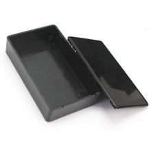 Plastic Waterproof Cover Project Electronic Instrument Case Enclosure Box 100 X 65 X 25mm Black цена и фото