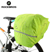 ROCKBROS Rainproof Dust-proof Covers For Bicycle Bag Reflective Cycling Backpack Rain Cover for Riding Travel Rear Seat Bag(China)