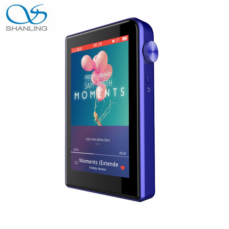 SHANLING M2s Bluetooth 4.0 DAP HIFI DSD MP3 Music Player TPA6120 chip Mini DAP Lossless Apt-X Music Player With Screen protector  shanling m2 hifi professional lossless music mp3 portable player walkman s