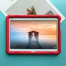 MingShore Silicone Rugged Durable Cover Case For Huawei MediaPad M3 Lite 10 10.1 inch BAH-W09/L09/AL00 Tablet Protective