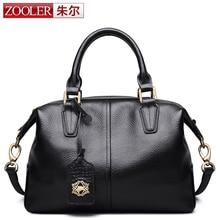ZOOLER 2016 winter new women leather bags handbags women famous brands luxury shoulder bag genuine leather bolsa feminina#2920