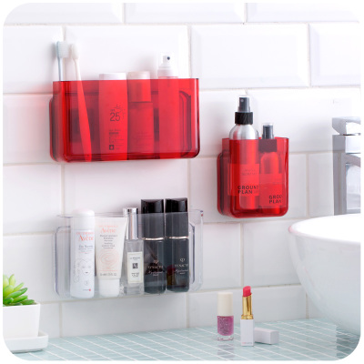 Aliexpress.com : Buy MoeTron Ceative Decorative Wall Shelf 3M Glue Adhesive  Bathroom Shelves Plastic Wall Mounted Movable Shelf Bathroom Storage From  ...