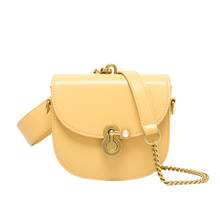 The New Women Crossbody Bag Fashion Semicircle Saddle Bags PU Leather Shoulder Bags for female Handbags designer bolsas
