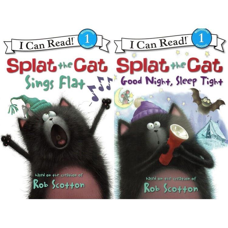 16 livres + 2 CD AUDIO je peux lire! SPLAT le chat coloriage livres pour enfants enfants anglais histoire livre ensemble début Educaction lecture - 5