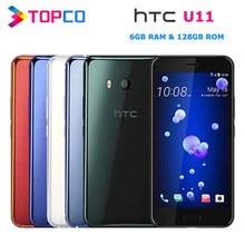 HTC U11 çift 128GB orijinal Unlocked GSM 3G & 4G android cep telefonu Octa çekirdek 5.5