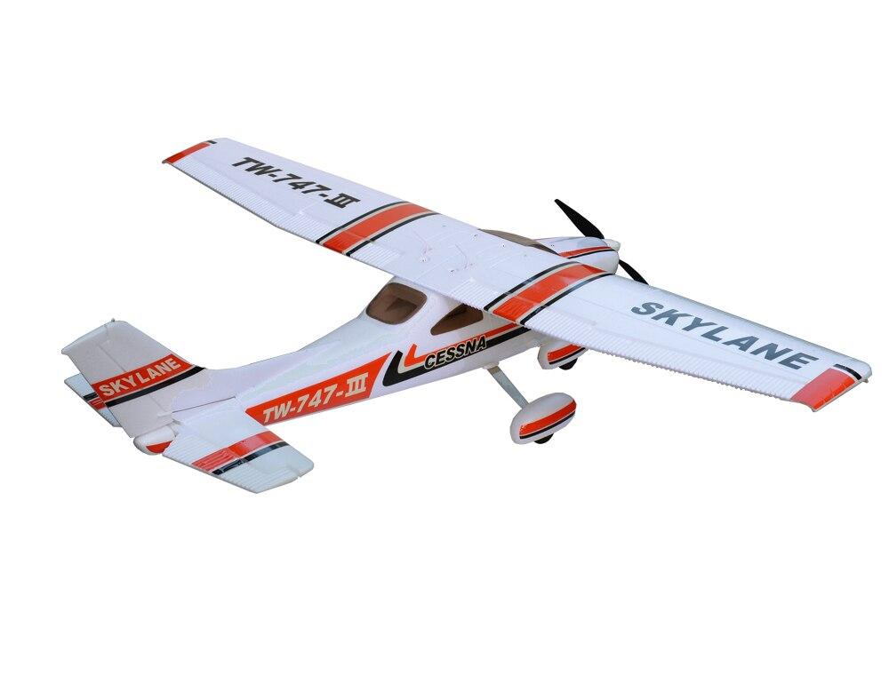 Volantex 1.6M Cessna182 RC KIT Glider Plane Model W/ Motor Servo 20A ESC Battery new phoenix 11207 b777 300er pk gii 1 400 skyteam aviation indonesia commercial jetliners plane model hobby