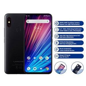 Image 5 - UMIDIGI F1 Play смартфон, 6 ГБ ОЗУ 64 Гб ПЗУ, 6,3 дюймовый экран FHD, глобальная версия, двойной 4G, 48 Мп + 8 Мп + 16 Мп, 5150 мАч, Android 9,0, мобильный телефон