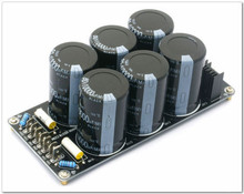 Assembled 6*10000uF/80V high quality power supply board for amplifier PSU