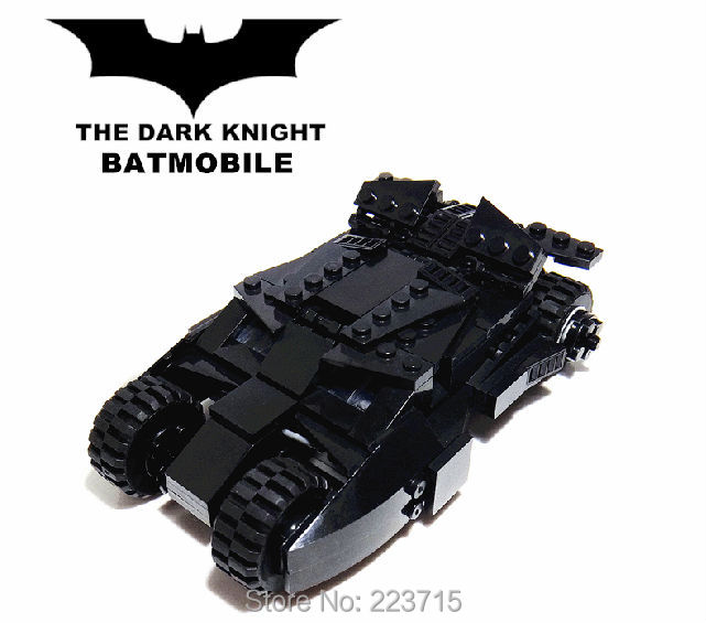 *Batmobile 2012 - the dark knight* DIY enlighten block bricks,Compatible With other Assembles Particles