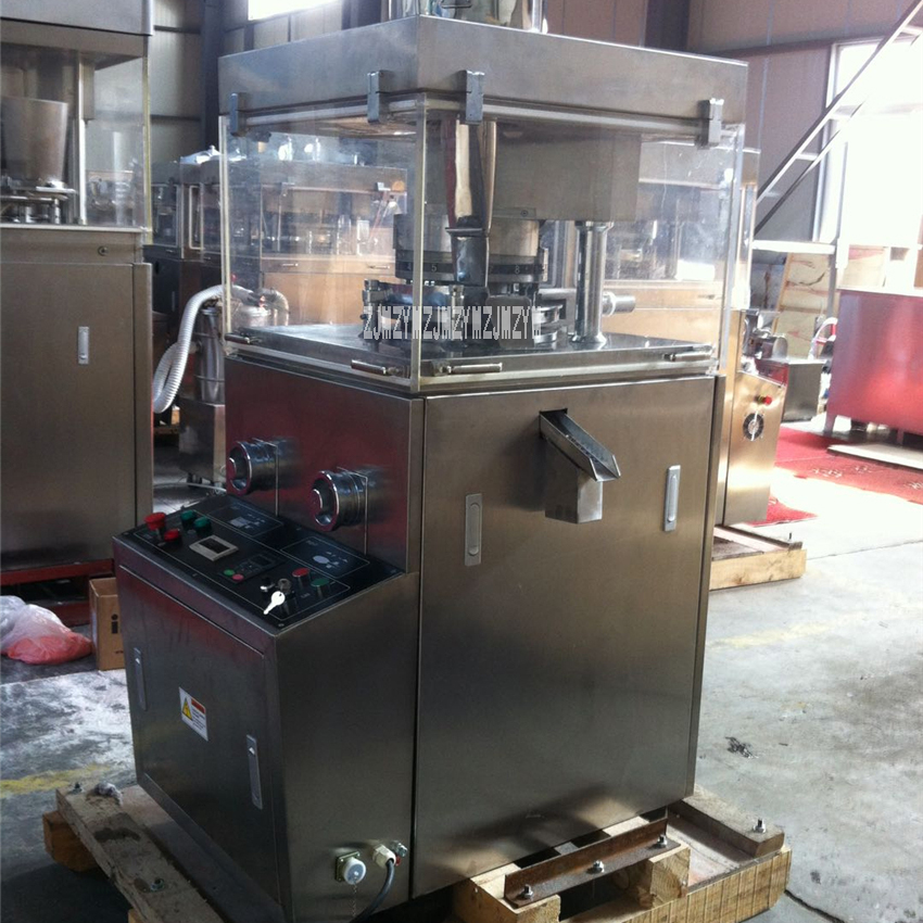 ZP 17D Automatic Rotary Tablet Press High quality Stainless Steel Tablet Pressing Machine 110V/220V/380V 2.2Kw 30600pcs/h 60Kn