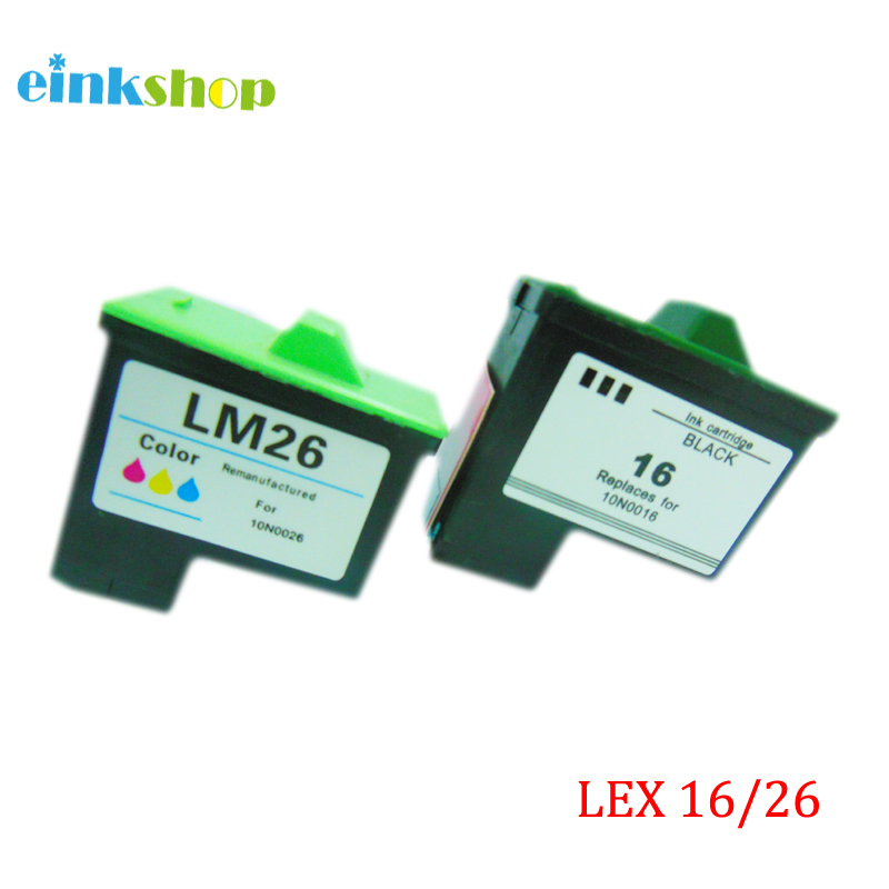 Lexmark üçün 16 26 mürəkkəb kartric Lexmark Z615 X1100 X1150 X2250 X75 X1200 X1290 Z612 Z614 Z615 I3 Z13 Z23 Z25 Z35 Z515 Z517