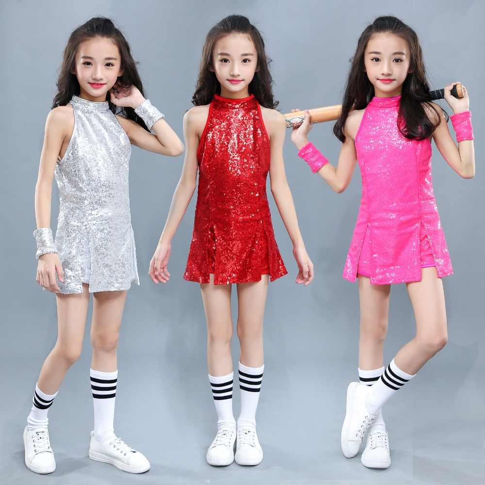 0cea26f83c04 Detail Feedback Questions about Kids Hip Hop Dance Costume Girls ...