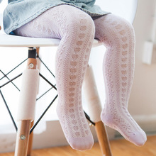 Baby Stretch Socks Girl  Cotton Newborn Pantyhose Over The Knee Stuff Summer Autumn for
