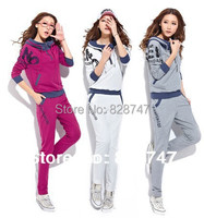 2013 New HOT Casual Fashion Women S Sportswear Hooded Cardigan Sweater Suit Big Size Can Wholesale