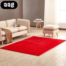 AAG Living room/bedroom Rug Antiskid soft 40cm-200cm 16 colors carpet modern carpet mat Modern Area Rug For Bedroom Shaggy Rug bohemian floral antiskid bath rug