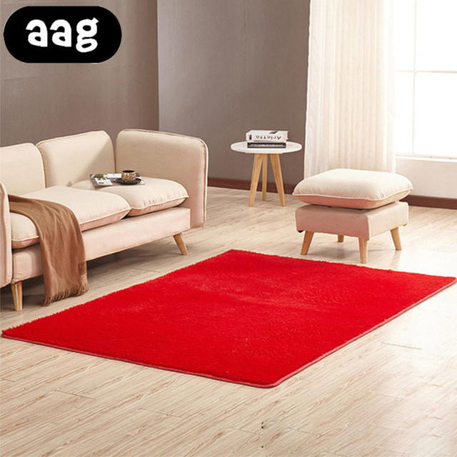 US $6.67 10% OFF|AAG Living room/bedroom Rug Antiskid soft 40cm 200cm 16  colors carpet modern carpet mat Modern Area Rug For Bedroom Shaggy Rug-in  ...