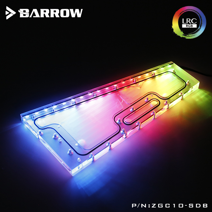 Barrow ZGC10-SDB, Waterway Boards For Zidli ZC-10 Case, For Intel CPU Water Block & Single GPU Building цена и фото