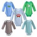 3 pcs Roupas Para Bebês recém-nascidos Roupas de Algodão Meninos Meninas Macacão de Manga Longa Quentes Recém-nascidos Roupa Do Bebê Corpo Terno Ropa Bebes 0-2a