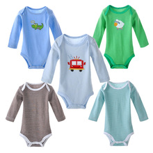 3pcs Baby BodySuits Infants Clothing Cotton Boys Girls Jumpsuit Long Sleeve Warm Newborn Clothes Baby Body Suit Ropa Bebes 0-2y
