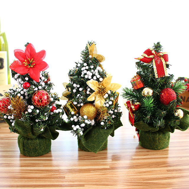 Misaya 1pc Christmas Tree Bouquet 3 Colors Small Bell Decoration High Quality Decorations For