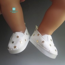 Variety of fashion sports boots shoes for dolls fits 43 cm Zapf dolls baby born and