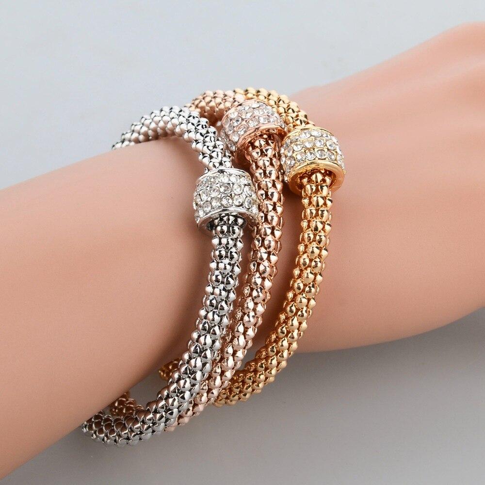 Modeschmuck armband  Aliexpress.com : Longway 2017 hochzeit gold farbe armbänder ...