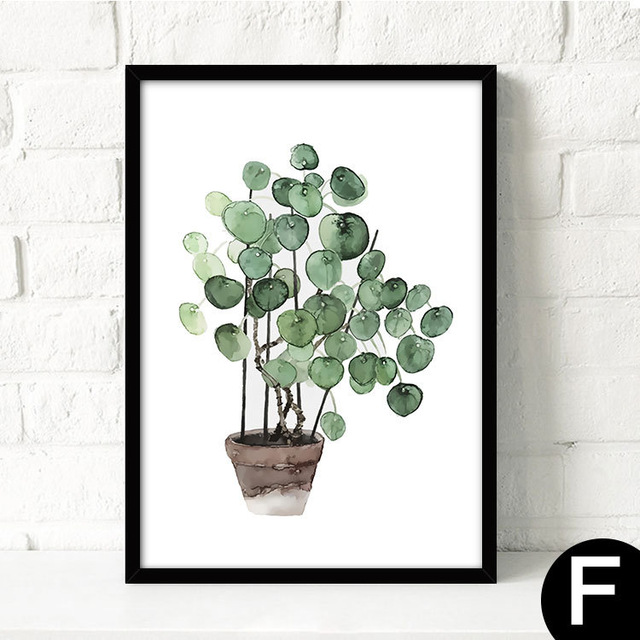 Watercolor-Tropical-Plant-leaves-Canvas-Art-Print-Poster-Nordic-Green-Plant-leaf-rural-Wall-Pictures-for.jpg_640x640 (2)