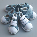 5cm doll shoes Denim Canvas Mini Toy Shoes1/6 Bjd For Russian Tilda Doll Sneackers Doll shoes