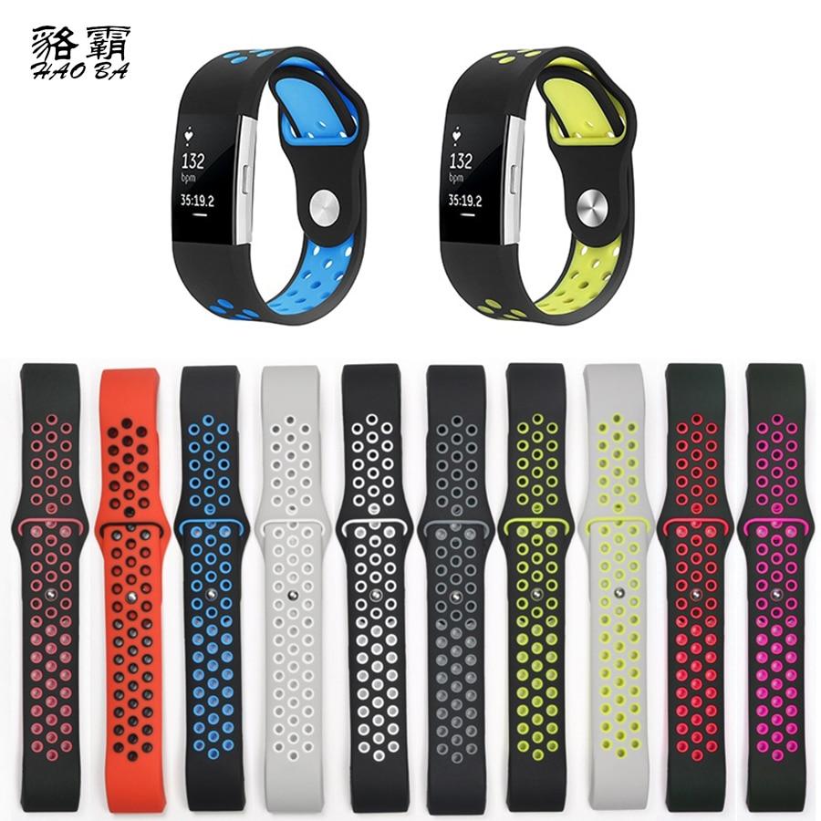 Bracelet pour fitbit charge 2 bande Silicone bracelet Pour Fitbit charge 2 bracelet bracelets à puce Dispositif Portable Accessoires