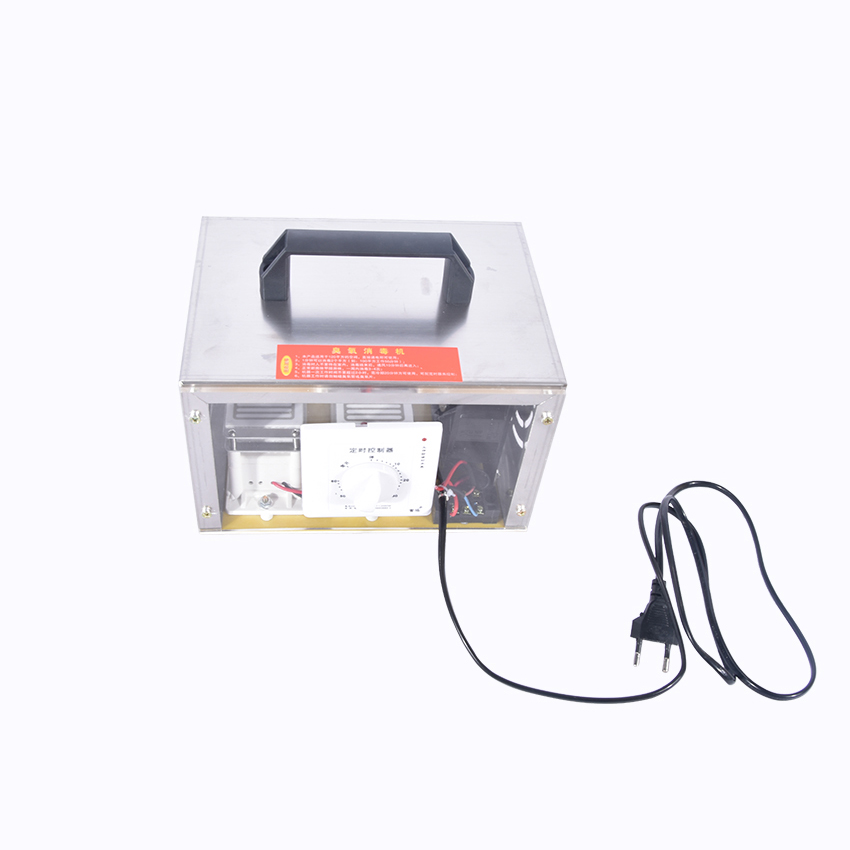 NEW Ozone disinfection sterilizer 220V/110V Air Purifiers Ozone Generator 20g/h Ozonator Portable Ozonizer (With Timing Switch)