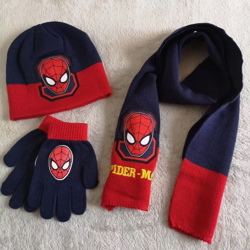 Hat /& Glove Set red red Angry Birds Boys Scarf