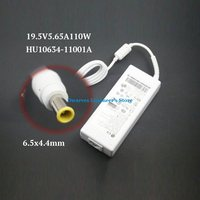 Genuine 19.5V 5.65A 110W Laptop Adapter HU10634 11001A AC Power Supply For LG Charger Adapters US / EU / UK / AU Power Cord