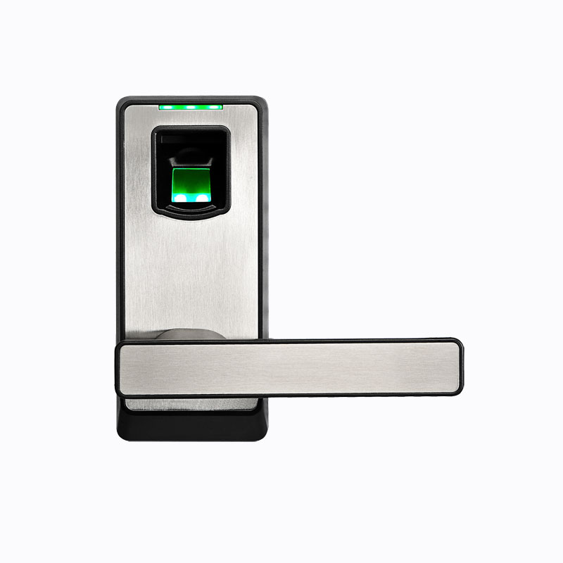 American Standard Single Latch DIY Fingerprint Lock Rugged Housing with ABS Material Keyless Keypad Right Left