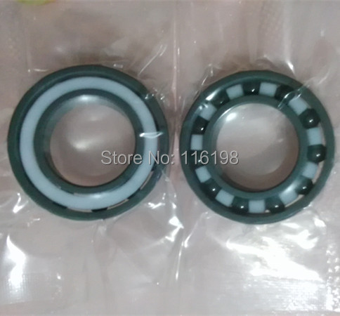 6806 full SI3N4 ceramic deep groove ball bearing 30x42x7mmP5 ABEC5 6806 61806 ce zro2 full ceramic bearing30 42 7mm