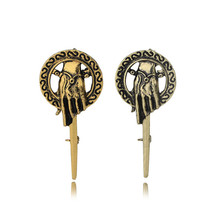 Game of Thrones Hand the King Badge Cosplay Prop Metal Alloy Brooch Pin
