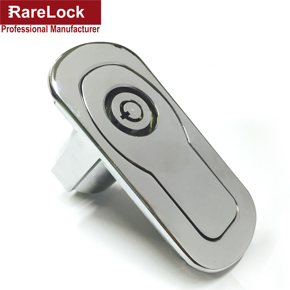 Rarelock Vending Lock Handle Machine Locks Zinc Alloy Equipment Lock Factory Price Tublar Locks g high quality abs chrome 2pcs up grill trim lower grill trim grill decoration trim grill streamer for honda city 2015 216
