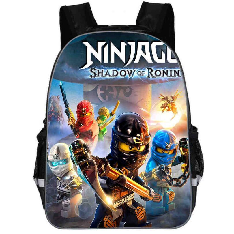 2019 Children School Bags Ninjago Game Schoolbag For Boy Backpack 3d Printing Book Bag Backpack For Teenagers Sac A Dos Enfant