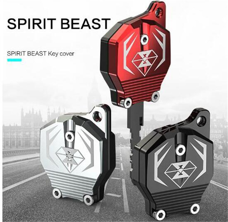 SPIRIT BEAST Key Decoration Cover Creative Products CB190 Dedicated Car Styling Diy Motor Modified Motorcycle Key Accessories in Grips from Automobiles Motorcycles