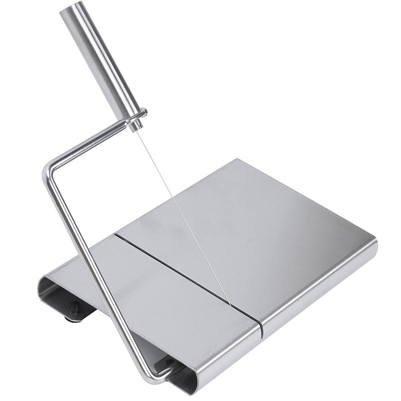 Stainless Steel <font><b>Cheese</b></font> Slicer Butter Cutter <font><b>Knife</b></font> <font><b>Board</b></font> Wire Making Dessert Blade Kitchen Bake Tool image