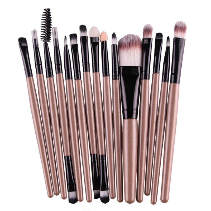Professional Makeup Brush Set 15pcs font b Eye b font font b Shadow b font Brush