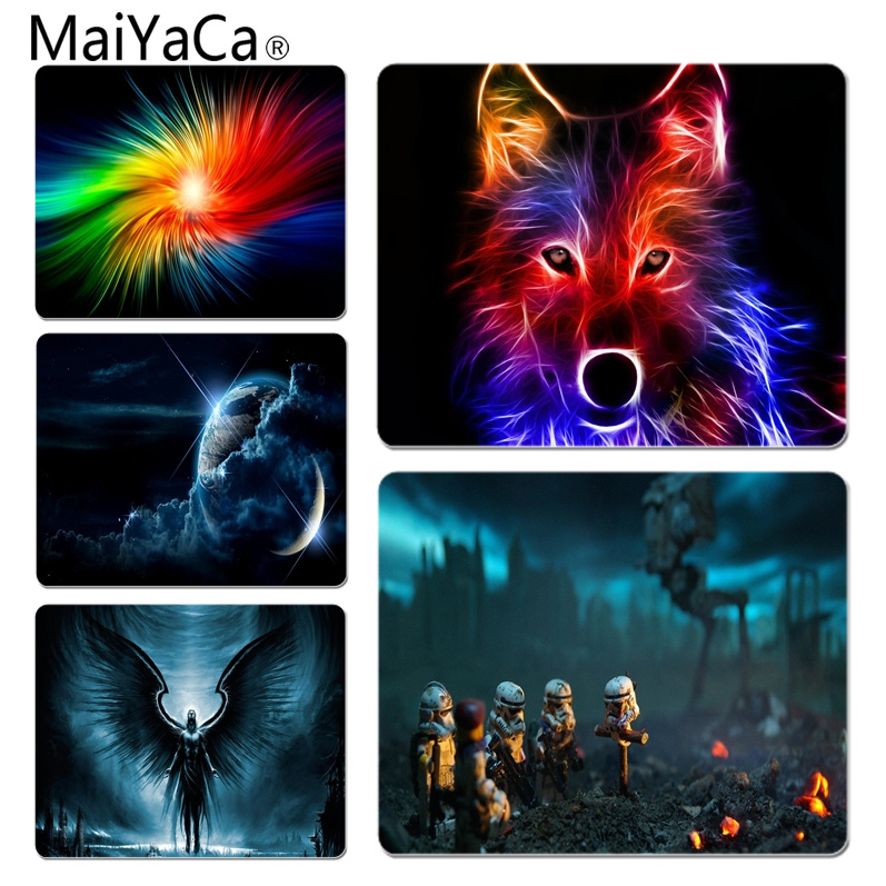 MaiYaCa Hot Sales Awsome background Unique Desktop Pad Game Mousepad Size for 180x220x2mm and 250x290x2mm Rubber Mousemats